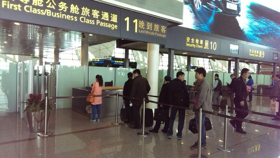 """沈阳机场设绿色通道助""""晚到候补""""旅客登机"""
