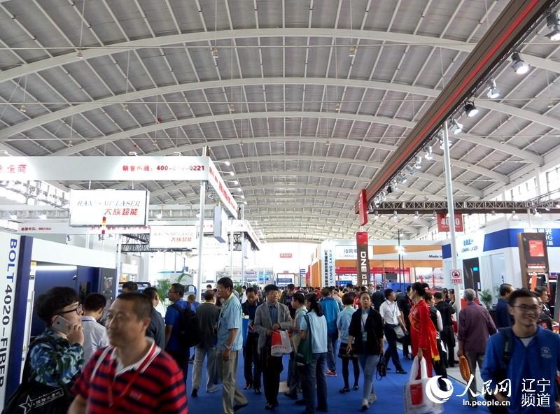 十五届中国国际装备制造业博览会在辽宁沈阳国际展览中心开幕.本图片