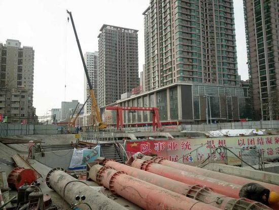辽宁时间城建重点抢抓项目节点开复工--沈阳频订做文具用品图片