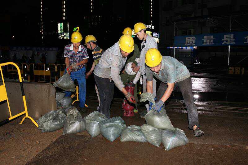 沈阳市建委组织实战演练 确保建筑工地安全