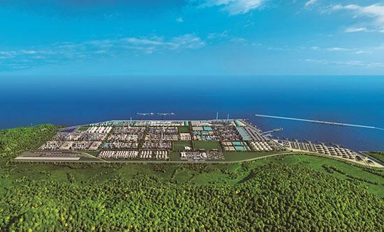 恒力石化(大连长兴岛)产业园效果图