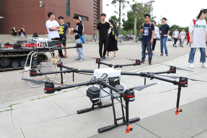 沈阳航空航天大学首届创新创业科技节开幕