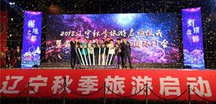 盘锦辽河湿地国际灯会开幕