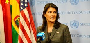 美国常驻联合国代表黑莉意外辞职