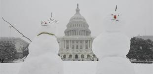 华盛顿降暴雪