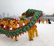 辽宁终于下雪啦!