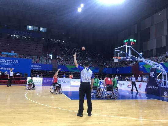 辽宁轮椅篮球男队、聋人女子篮球队冲进全国残运会决赛