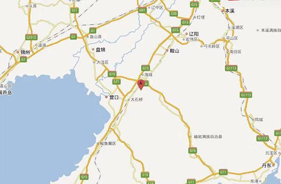 辽宁省海城市发生3.0级地震