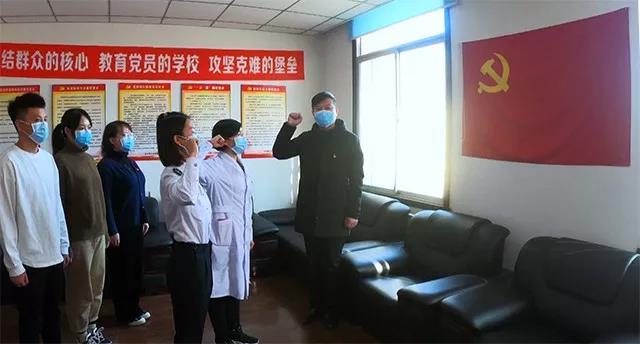 营口:让党旗在防控疫情斗争第一线高高飘扬