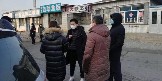 """阜新市文旅广电局:""""党建+""""模式助力一线 坚守社区防控前沿"""