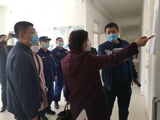 阜新市多部门联合开展疫情集中隔离点消防安全督导检查