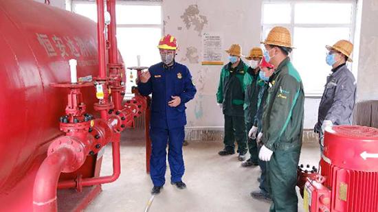 丹东消防复工复产技术服务专家组